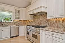 Limestone Backsplash Kitchen Typhoon Bordeaux Granite With Backsplash