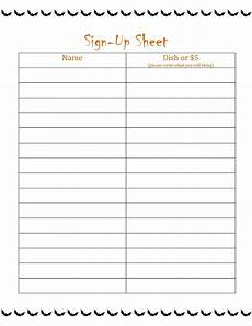 free printable sign up sheet printable loving printable