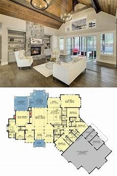 4 bedroom craftsman house plans beautiful 4 bedroom craftsman style single story home