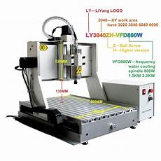 3040 3axis cnc router engraver metal engraving drilling milling machine z axis higher 4axis