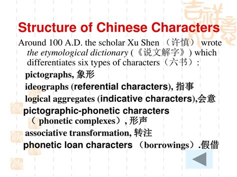 Chinese Character Structure