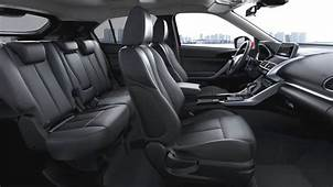Mitsubishi Eclipse Cross 2018 Dimensions Boot Space And