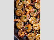 Easy Honey Garlic Shrimp   Dinner, then Dessert
