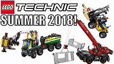 lego technic summer 2018 sets heavy duty forklift forest