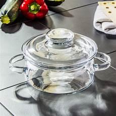 kochtopf glas topf mit glasdeckel mikrowelle suppentopf
