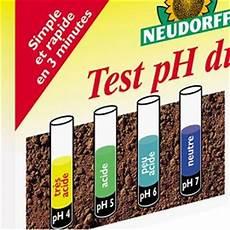 ph du sol test ph du sol neudorff plantes et jardins