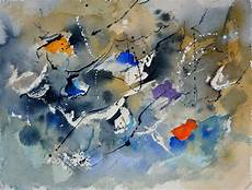 Abstract Watercolor 612162 Watercolor By Pol Ledent
