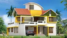 contemporary kerala style house plans latest kerala house plan and elevation at 2563 sq ft