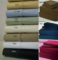 cal king size extra deep pocket 1 pc fitted sheet 1000 tc 100 cotton ebay