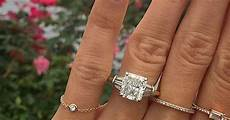 what the average considers a big engagement ring whowhatwear