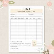 picture order form template photography order form template photography order form photography