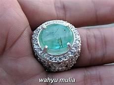 Zamrud Emerald Beryl 2 5 Ct batu zamrud kolombia asli kode 819 wahyu mulia