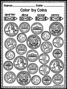 money identification worksheets for kindergarten 2195 identifying coins and values coloring worksheets by