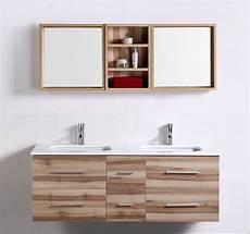 meuble salle de bain vasques saunature 1400mm