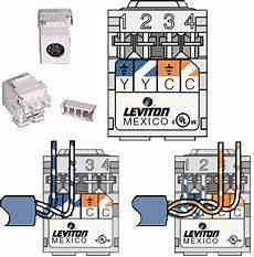 Legrand Cat6 B Modular Wiring Diagram