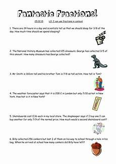 word problems worksheets tes 11145 fraction of number word problems teaching resources
