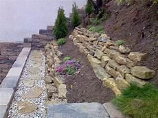Luxus Gartengestaltung Am Hang Mit Steinen Ideen Hang