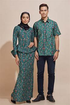khaled kemeja batik kh50 habra fashion gallery