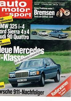 auto motor und sport 2 oktober 1985 auto motor und sport heft 20