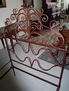 letti in ferro battuto antichi letto in ferro battuto genovese antiquariato su anticoantico