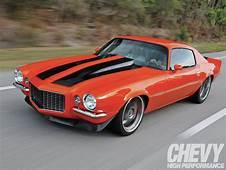 1971 Chevrolet Camaro SS  Chevy High Performance Magazine