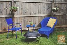 simple patio decorating ideas throw pillows and spray paint furniture backyards and sprays