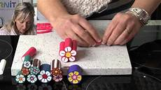 Polymer Clay Tutorials How To Make A Flower