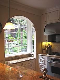 Kitchen Bay Window Plants by Kitchen Bay Window Mediterranean Kitchen San
