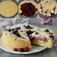 cheesecake crema pasticcera sbriciolata crema pasticcera e frutti di bosco ricette ricette dolci cibo