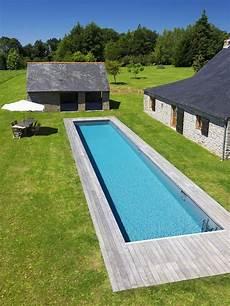 couloir de nage hors sol bois le couloir de nage par l esprit piscine 17 x 3 25 m