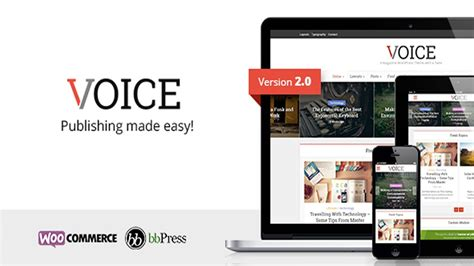 voice v2 8 4 clean news magazine wordpress theme