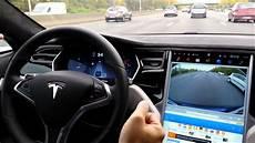 test en de l autopilot v7 sur la tesla model s