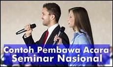 Mc Malvorlagen Bahasa Indonesia Naskah Mc Pembawa Acara Seminar Nasional Bahasa Indonesia