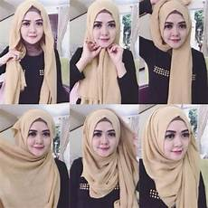 Tutorial Pashmina Simple Tanpa Ribet Info Tren