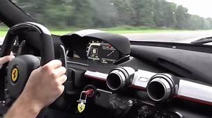 Enjoy This Blast To 213 MPH In The Ferrari LaFerrari Video