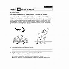 animal behavior worksheets high school 13807 animal behavior worksheet for 7th 12th grade lesson planet