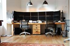two person desk home office furniture como no caer enamorado de un trading room de estos ingale