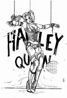 malvorlagen harley quinn