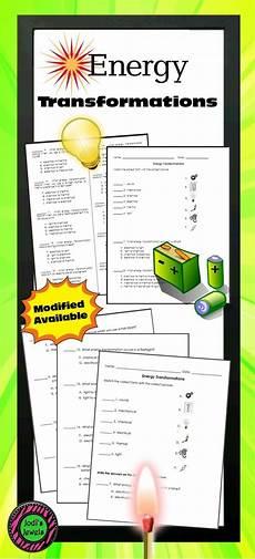 types of energy worksheet best 25 energy transformation ideas on