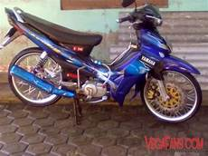 Jupiter Z Modifikasi Standar by Jupiter Z Biru Modif Simple Standar Vegafans