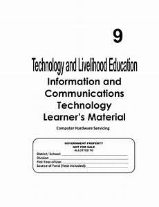 pdf print k 12 module in tle ict grade 9 all gradings