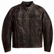 Ebay Harley Davidson Leather Jackets by Harley Davidson Mens Roadway Leather Jacket Brown Medium