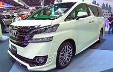 2019 toyota vellfire release date and price 2020 2021