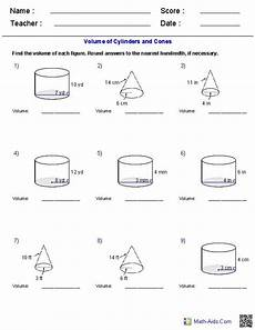 geometry honors worksheets 734 volume of a cylinder worksheet pdf briefencounters