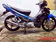 Jupiter Z New Biru Hitam Modif Standar Simple Vegafans
