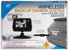 Vr3 Vrbcs300w License Plate Wireless Back Up With 2