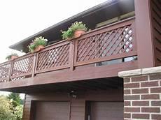 ringhiera in legno per esterno ringhiere in legno scale