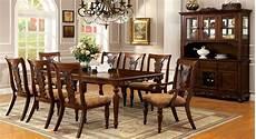seymour dark oak rectangular extendable leg dining room from furniture of america cm3880t