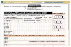 us postal service change of address form free how to print a change of address form from the us office techwalla com