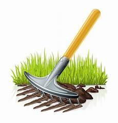 de hark de tuin vector illustratie illustratie